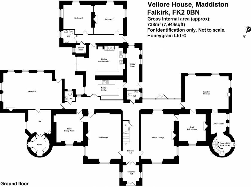 Photos pictures and videos of the holiday property for Scottish castle house plans